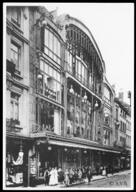 L'Innovation, rue Neuve, architecte: Victor Horta | L'Innovation, Nieuwstraat, architect: Victor Horta - photo: © Archives de la Ville de Bruxelles | Archief van de Stad Brussel