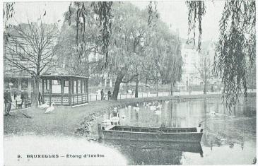 De vijvers van Elsene (begin 20de eeuw)