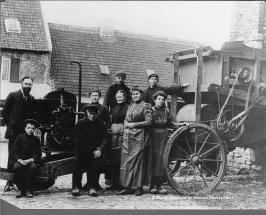 Hof ter Musschen in Sint-Lambrechts-Woluwe (1912)