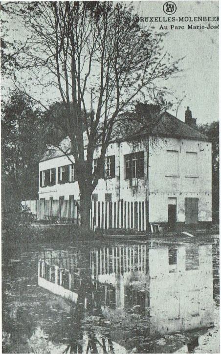 Het Marie-José park in Molenbeek