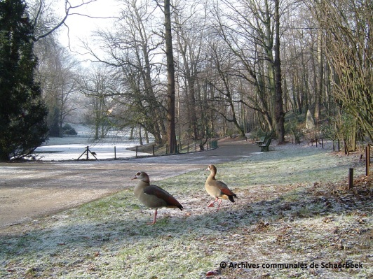 Le parc Josaphat à Schaerbeek (2007)