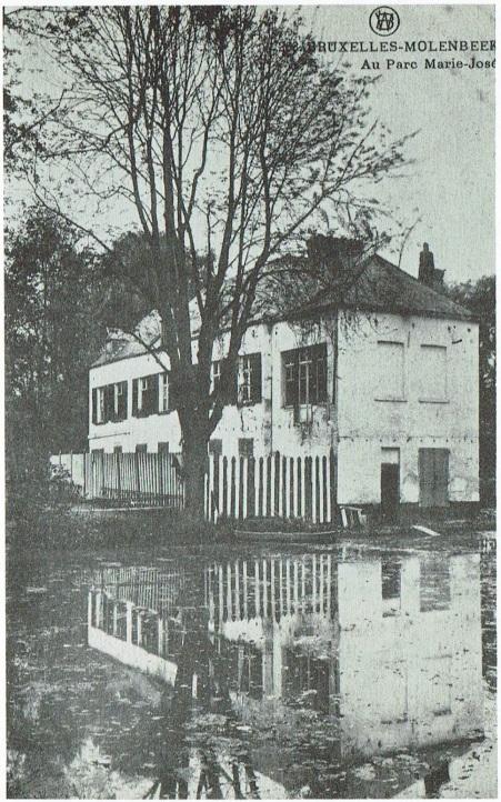 Le parc Marié-José à Molenbeek