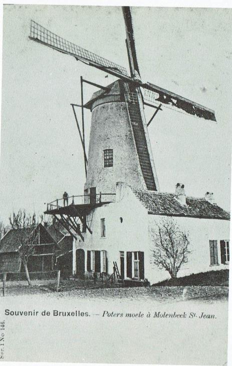 Le Poters Moele à Molenbeek