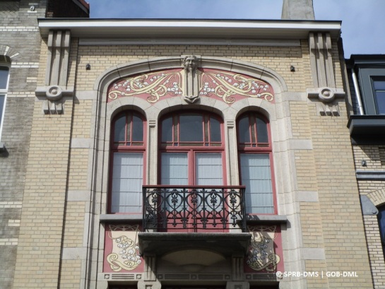 Maison avenue Prekelinden n° 149 (Woluwe-Saint-Lambert), architecte : Juniet | Huis Prekelindenlaan nr. 149 (Sint-Lambrechts-Woluwe), architect : Juniet - photo : © Monuments & Sites – Bruxelles