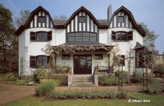 Bloemenwerf, avenue Vanderaey n°102 (Uccle), architecte: Henry Van de Velde | Bloemenwerf, Vanderaeylaan nr 102 (Ukkel) - photo © Olivier Bost