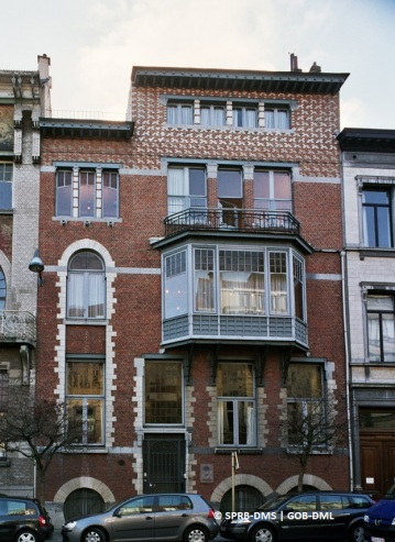Hôtel René Janssens, rue Defacqz n°50 (Ixelles), architectes : Paul Hankar et Maurice Van Ysendyck | Herenhuis René Janssens, Defacqzstraat nr 50 (Elsene) : architecten : Paul Hankar en Maurice Van Ysendyck – photo : © Monuments & Sites – Bruxelles