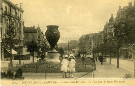 Avenue Louis Bertrand, carte postale, ACS | Louis Bertrandlaan, postkaart, GAS