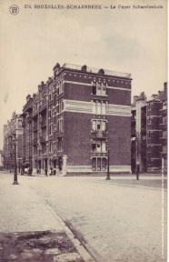 La Cité Jacobs, carte postale, s.d., Archives communales de Schaerbeek | Jacobswijk, postkaart, z.d., Gemeentearchieven van Schaarbeek